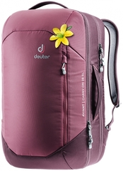 Рюкзак для путешествий женский Deuter Aviant Carry On 28 SL maron-aubergine
