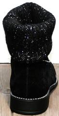 Ботинки женские осенние Kluchini 5161 k255 Black