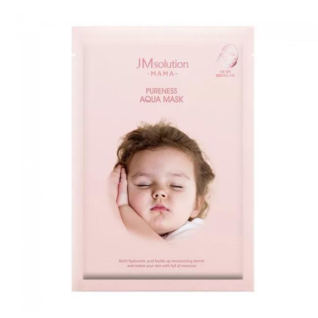 Тканевая увлажняющая маска с гиалуроновой кислотой Mama Pureness Aqua Moisturizing Facial Mask