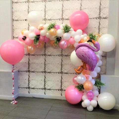 Арка розовый фламинго