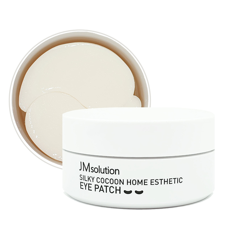 JMSolution Патчи с экстрактом белого кокона (малый размер) Silky Cocoon Home Esthetic Eye Patch White small