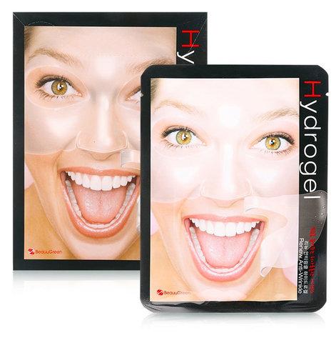 Антивозрастная гидрогелевая маска для лица BeauuGreen 28 мл