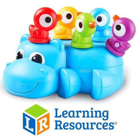 LER9108 Развивающая игрушка Бегемотик Генри Learning Resources