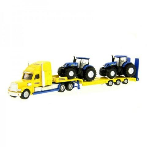 Siku.Тягач с тракторами