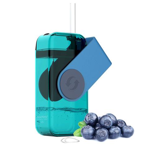 Мини-бокс для сока Asobu Juicy box (0,29 литра), голубой