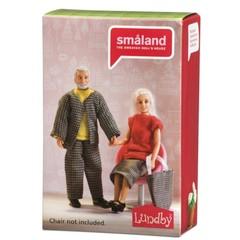 Куклы для домика Смоланд Бабушка с дедушкой, Lundby