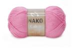 Пряжа Nako Calico ярко-розовый 6668