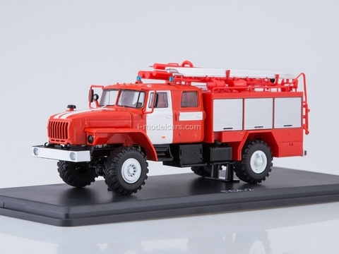 Ural-43206 PSA 2,0-40-2 fire engine 1:43 Start Scale Models (SSM)