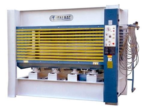 Гидравлический пятипролетный пресс горячего прессования Italmac GHP 8x150 (5x2500x1300))