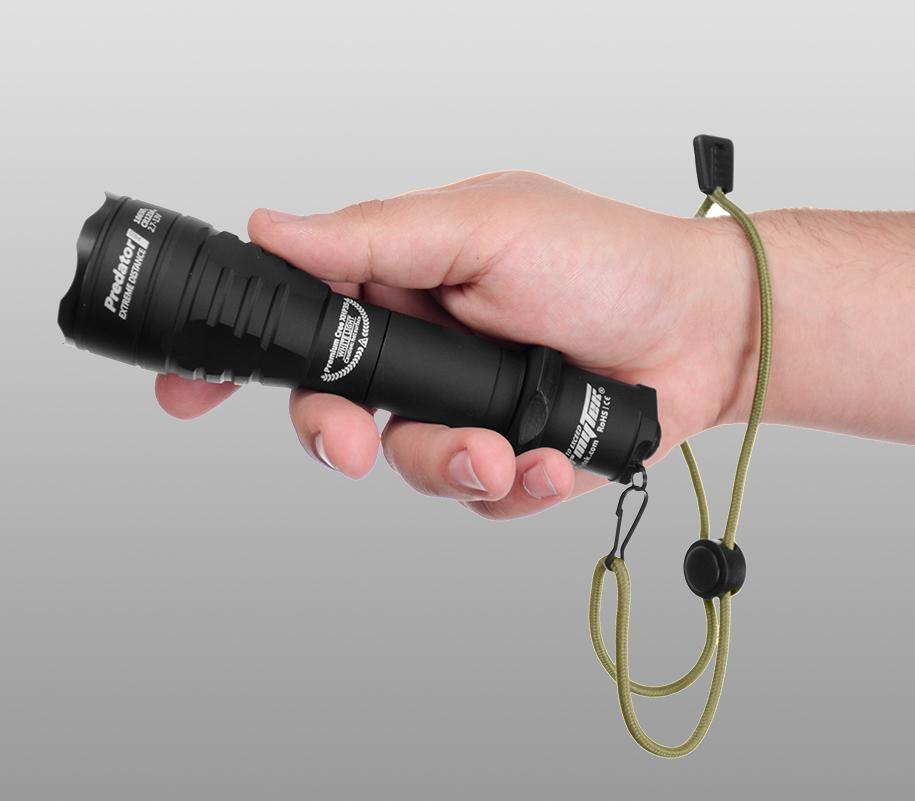 Тактический фонарь Armytek Predator Pro (тёплый свет) - фото 2
