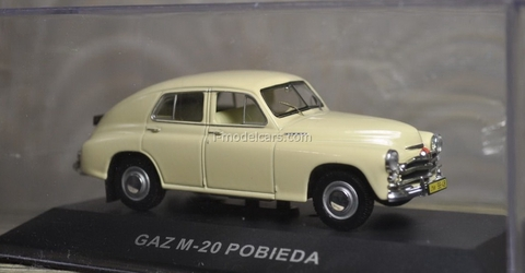 GAZ-M20 Pobieda beige 1950 IST002 IST Models 1:43
