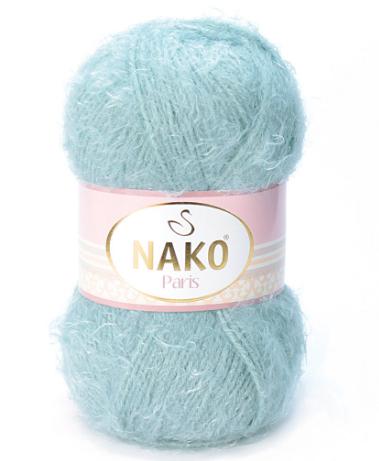 Пряжа Nako Paris 4229 ментол
