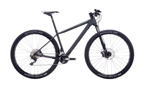 Cannondale F-Si Carbon 4 27.5 (2016) серый