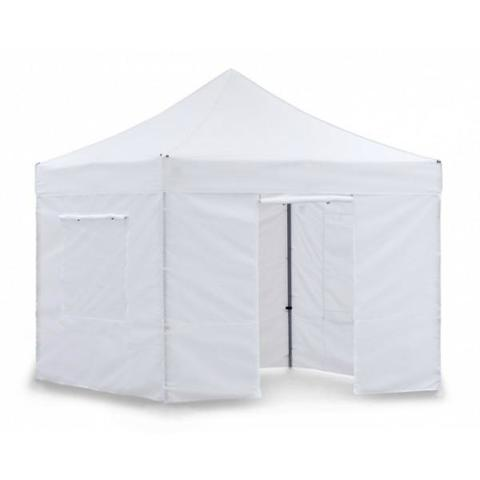 Тент-шатер быстросборный Helex 3x3х3м полиэстер белый
