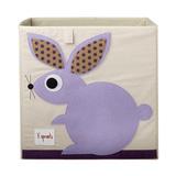 Коробка для хранения 3 Sprouts Кролик (фиолетовый)