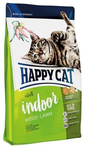 купить Happy Cat Supreme Adult Indoor Weide-lamm сухой корм для домашних кошек с пастбищным ягненком