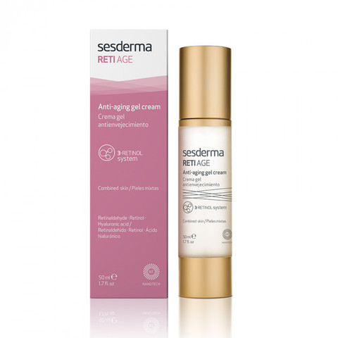 SESDERMA | Крем-гель антивозрастной / RETI AGE Anti-aging gel-cream, (50 мл)