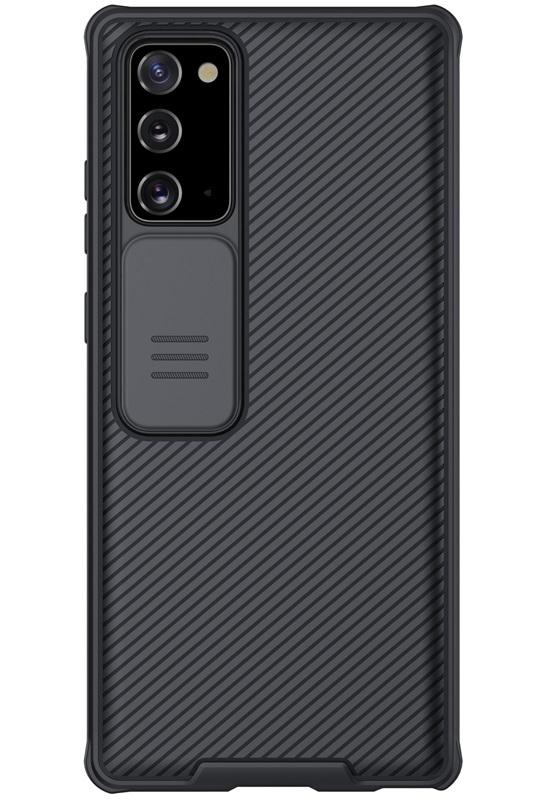 Чехол с защитной шторкой для Samsung Galaxy Note 20 от Nillkin серии CamShield Pro Case