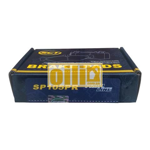 Гальмівні колодки SCT SP105 (Opel)