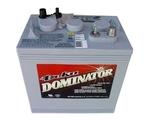 Аккумулятор тяговый DEKA 8G8VGC ( 8V 114Ah / 8В 114Ач ) - фотография
