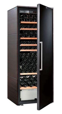 Винный шкаф EuroCave D Collection L венге, сплошная дверь, стандартная комплектация
