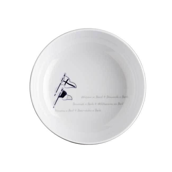 MELAMINE SMALL BOWL WELCOME ON BOARD