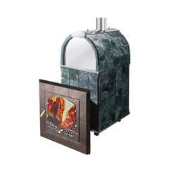 Печь Калита М арочная (Дверка - стальная окрашенная, облицовка талькохлорит)