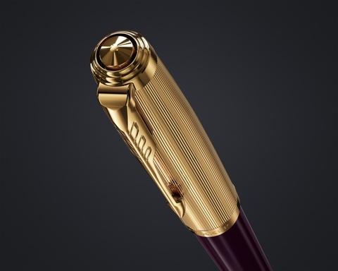 Перьевая ручка Parker 51 DELUXE PLUM GT, перо F123