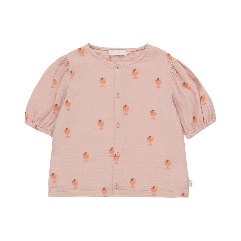 Блуза Tinycottons Ice Cream Cup Dusty Pink