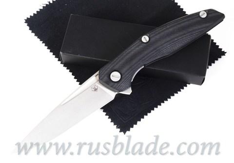Shirogorov 111 S90V groove G10 black