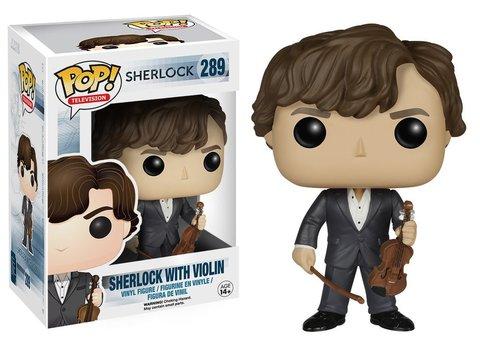 Фигурка Funko POP! Vinyl: Sherlock: Sherlock Holmes w/ Violin 6051