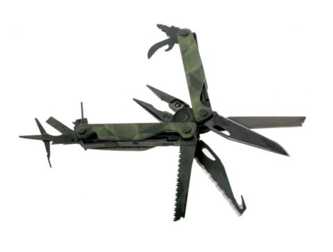 Мультитул Leatherman Charge Plus Forest Camo, 19 функций (832710) | Multitool-Leatherman.Ru