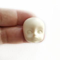 0893 Молд силиконовый. Лицо детское для изготовления куклы.