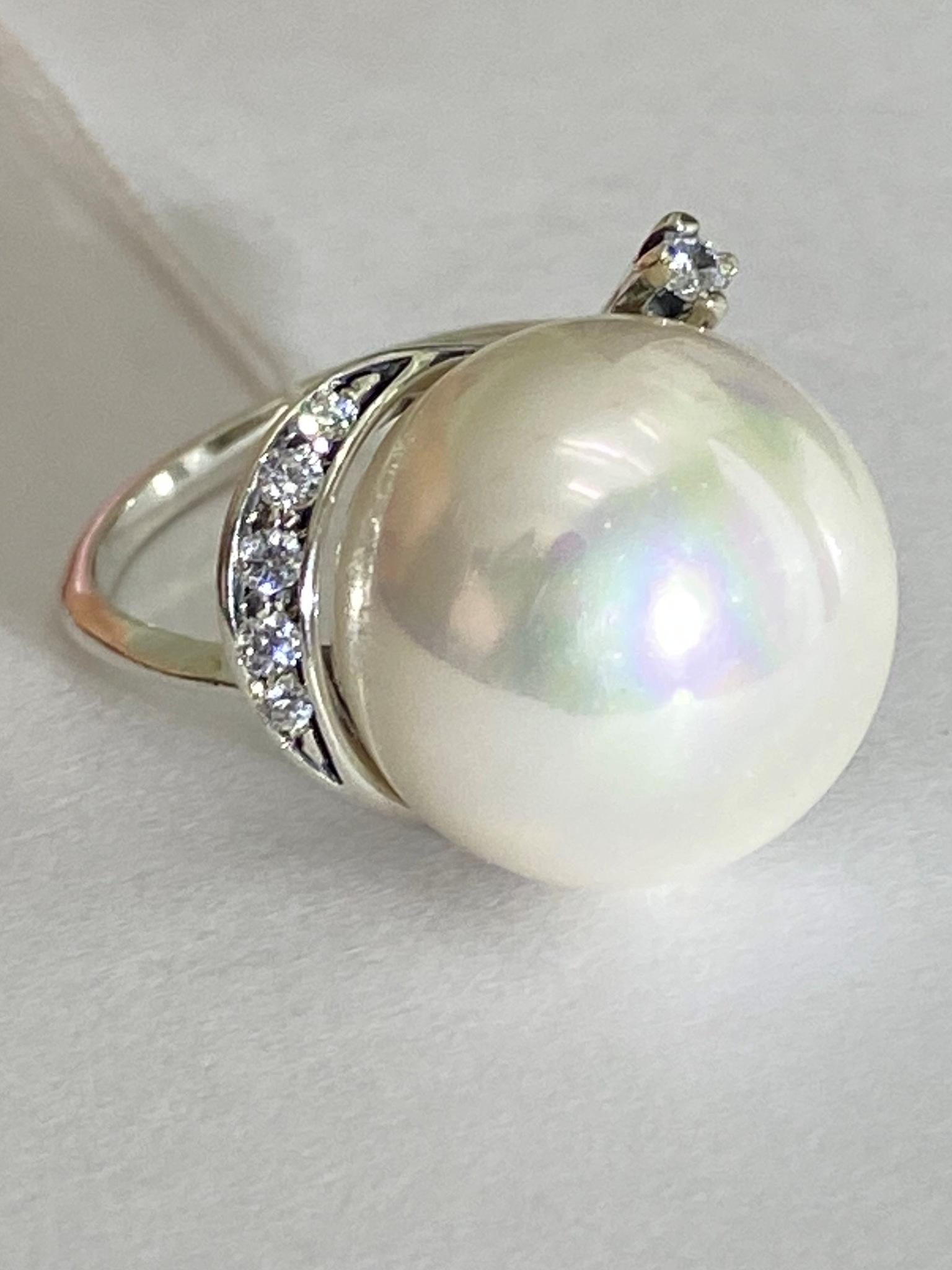 Мабэ (кольцо из серебра)