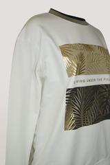 Блузка Sogo 2151 листья