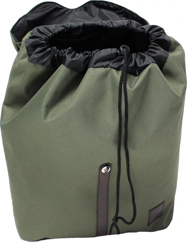 Рюкзак Bagland Рюкзак с кожзамом 14 л. Хаки (0010366)