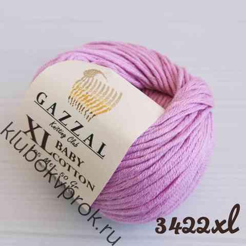 GAZZAL BABY COTTON XL 3422XL, Светлый сиреневый