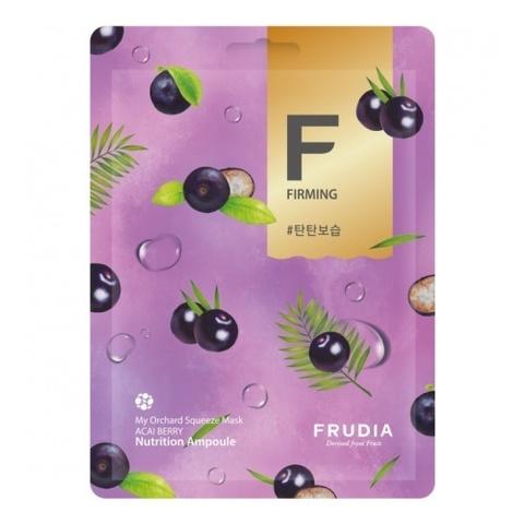 Frudia тканевая маска для лица с ягодами асаи - Frudia my orchard squeeze mask acai berry, 20 мл