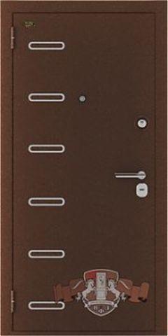 Дверь входная Стандарт + стальная, орех, 2 замка, фабрика Владимирская фабрика дверей