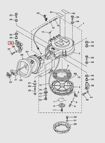 Кронштейн для лодочного мотора T40 Sea-PRO (7-36)