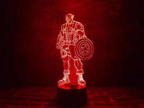 Светильник Капитан Америка (Стивен Роджерс)