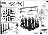 Светильник потолочный влагозащищенный Eglo ALMONTE 94878 3