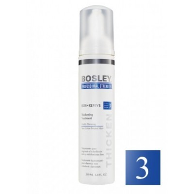 Bosley PRO Revive Синяя линия: Уход увеличивающий густоту истонченных неокрашенных волос (Thickening Treatment Visibly Thinning Non Color-Treated Hair), 200мл