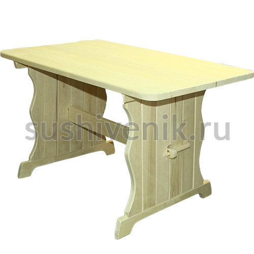 Стол из осины, 180*55*70 см