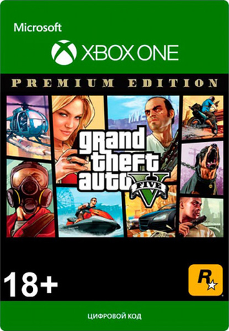 Grand Theft Auto V (GTA 5): Premium Edition (Xbox One/Series S/X, цифровой ключ, русские субтитры)