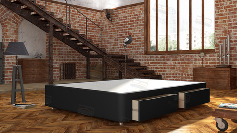 Кровать Mr.Mattress  Site Box с ящиками