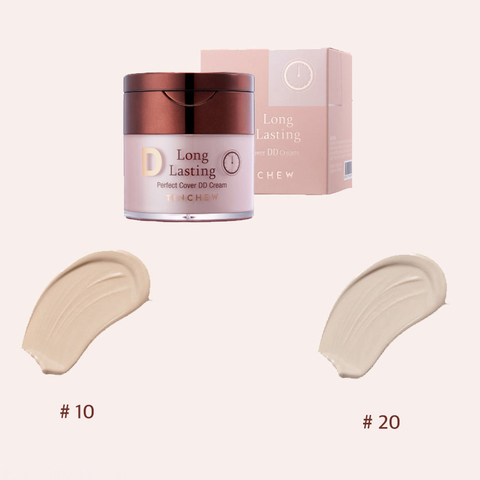 Tinchew Long Lasting Pefrect Cover DD Cream #10 #20 (50ml)
