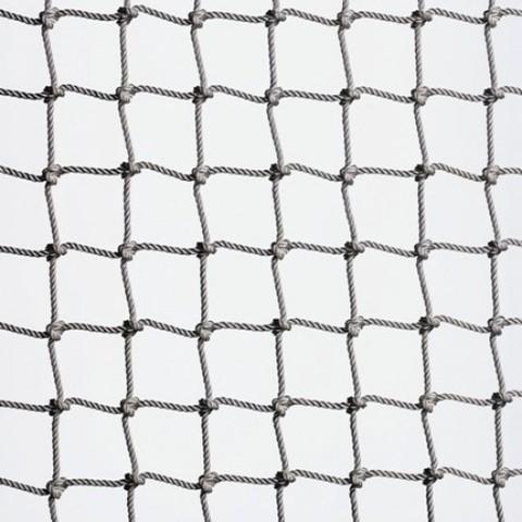 Веревочная сетка для лазания (ячейка 15x15 см, канат d=14 мм)