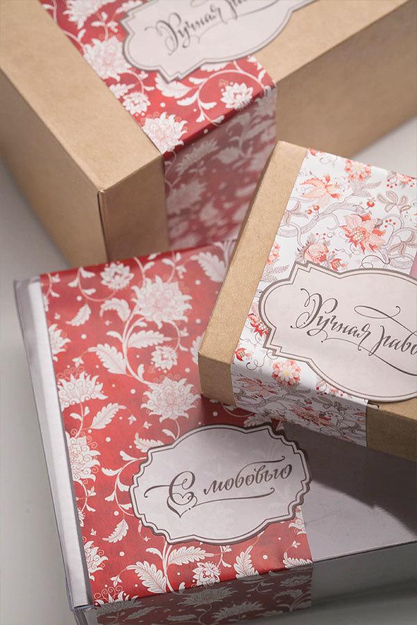 Этиклейка на упаковку для мыла Лилия