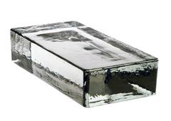 Кирпич стеклянный Vetropieno neutro 24х11,7х5,3 см.